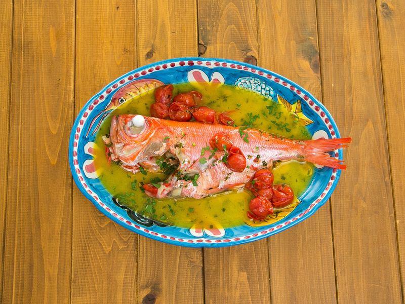【レストランの味をご家庭で。フライパンで作るアクアパッツァ】の画像