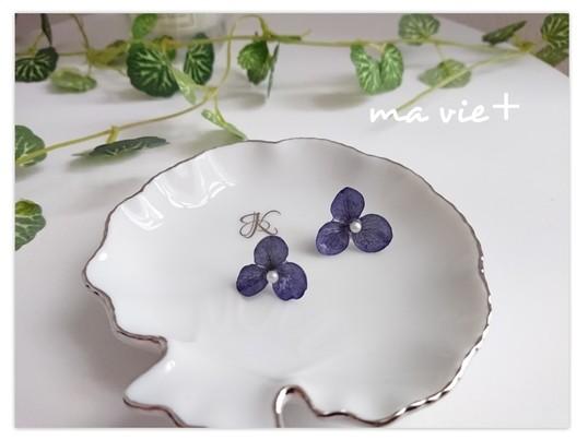 本物のお花で作るレジンアクセサリーと、アクセサリートレイを一緒に!の画像
