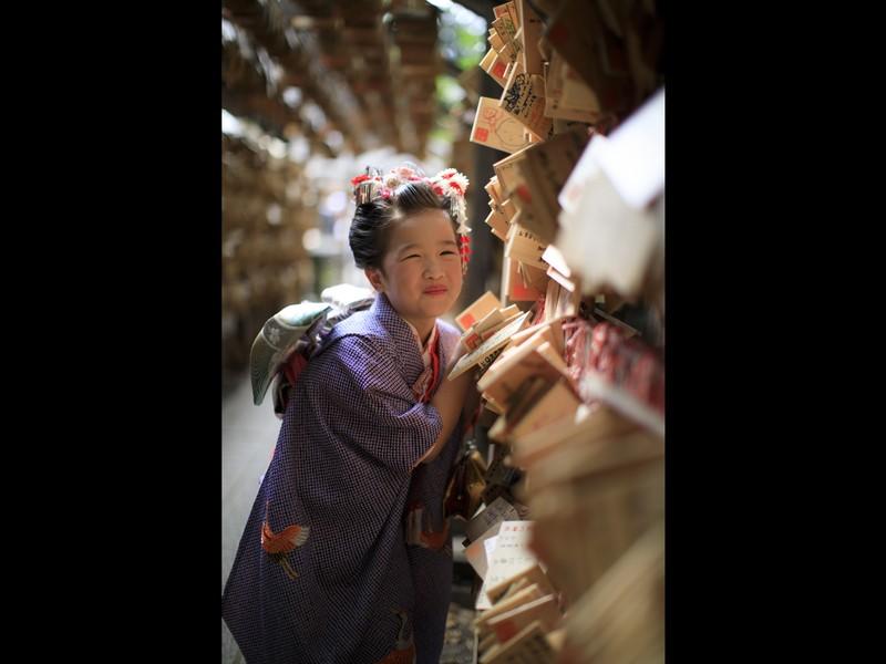 七五三撮影の極意!プロ並み写真でわが子を撮ろう♡神社で実践♪の画像
