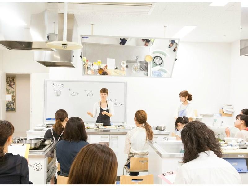 料理の基本を学べる料理教室 茶碗蒸し 筑前煮 たこと分葱のぬたの画像