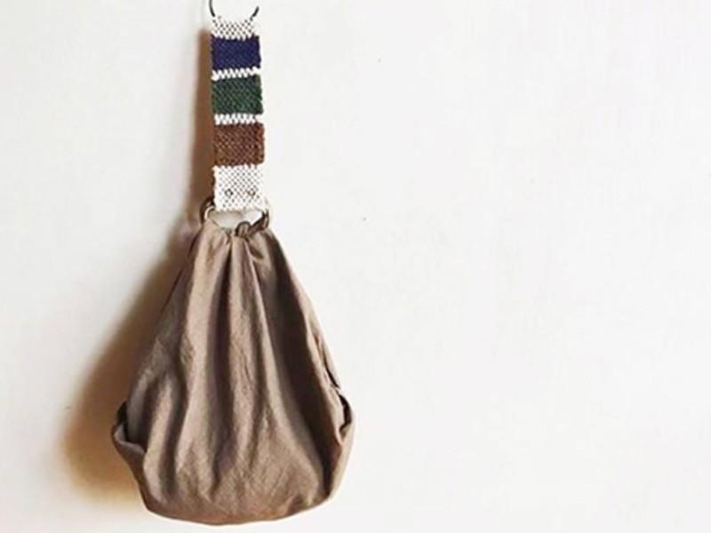 裂き織り 『風呂敷ハンドル作り』ワークショップの画像