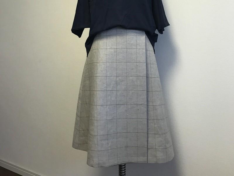 自分のサイズで作るオーダースカートの画像
