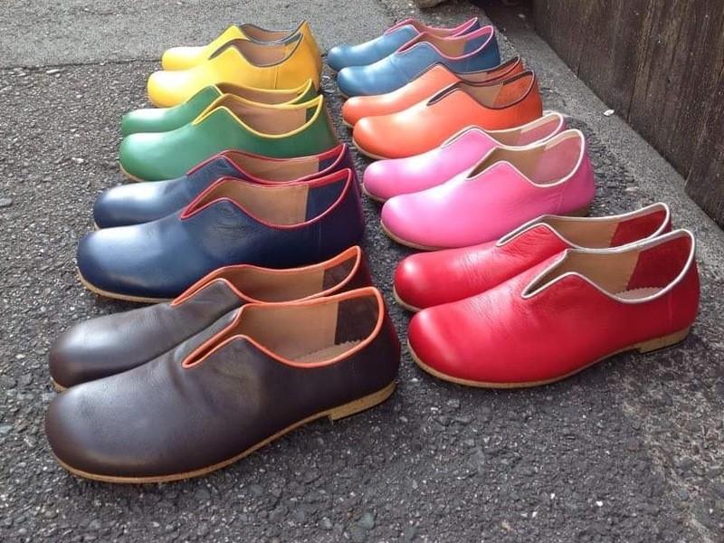 靴づくり体験ワークショップ・スリッポンの画像