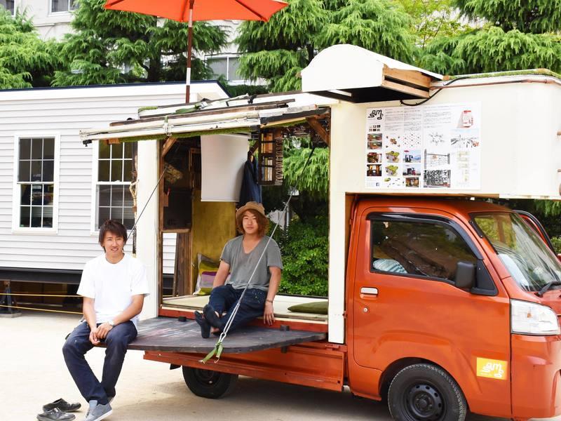 暮らし方の最先端「モバイルハウス」の作り方の画像