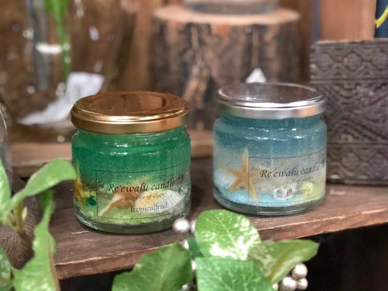 海を感じるインテリア~香りが選べる『キラキラジェルキャンドル』の画像