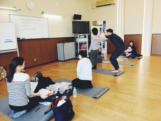 産後ケア体操インストラクター養成講座の画像