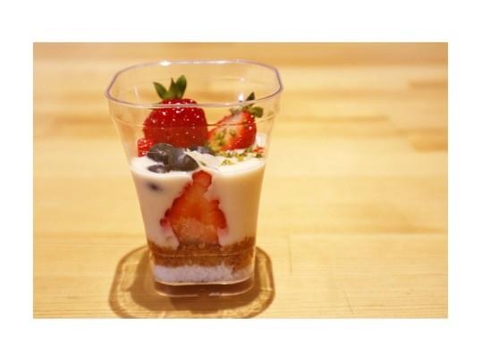苺を愉しむタルト作りの画像