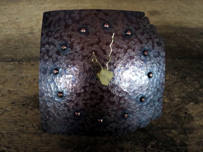 深夜工房・昼の部 本格的!銅で作る世界で一つの置き時計(針は真鍮)の画像