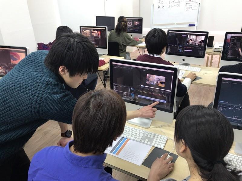 映像コース・A(基礎)オンライン受講可の画像