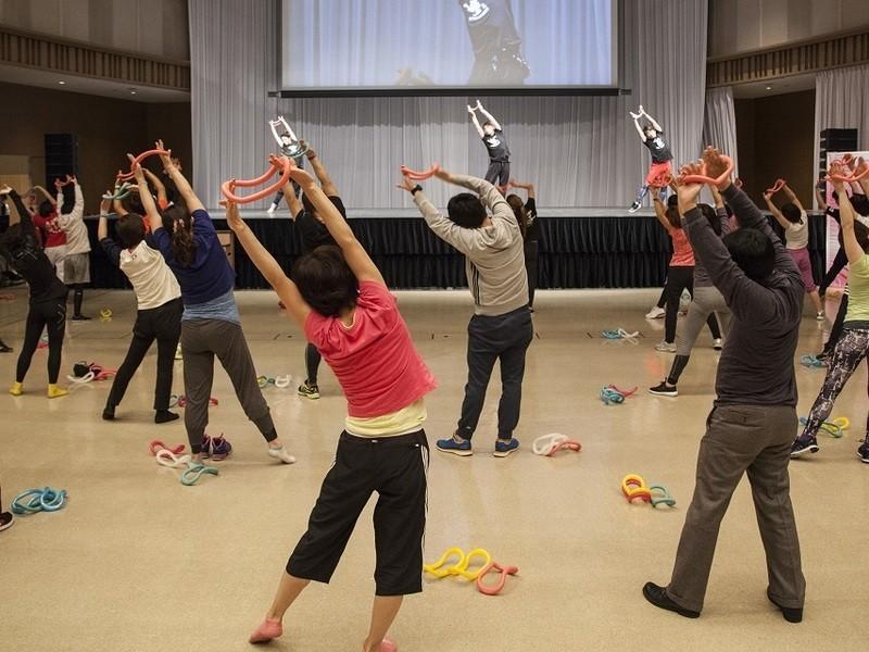 【東京】ウェーブリングダンササイズ 指導者認定講習会の画像
