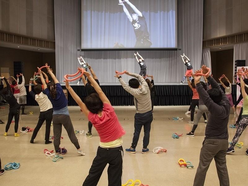 【岡山】ウェーブリングダンササイズ 指導者認定講習会の画像