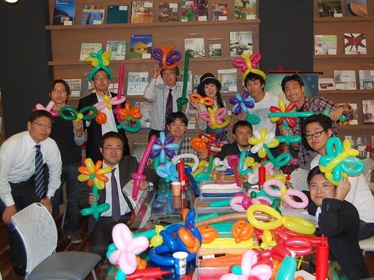 風船の魔法使いのバルーンアート教室【渋谷】の画像