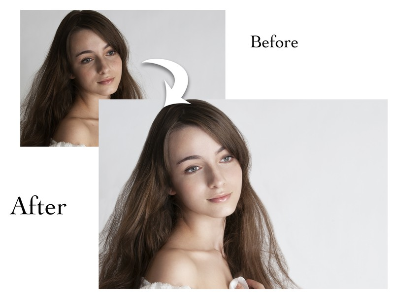 Photoshop ポートレート レタッチセミナー!初中級!の画像