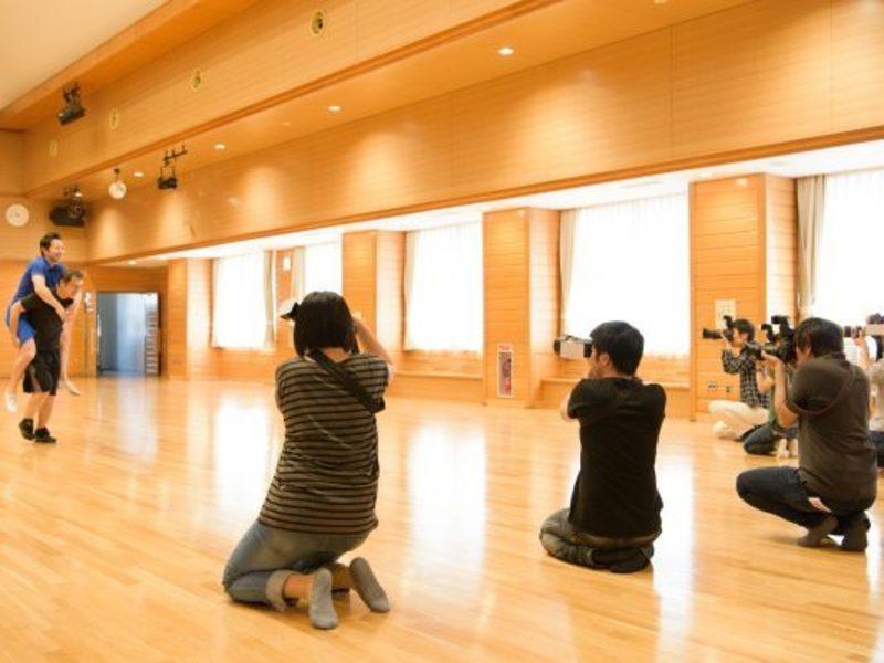 運動会でのプロの撮り方教えます。体育館でプロと一緒に撮って学ぼうの画像