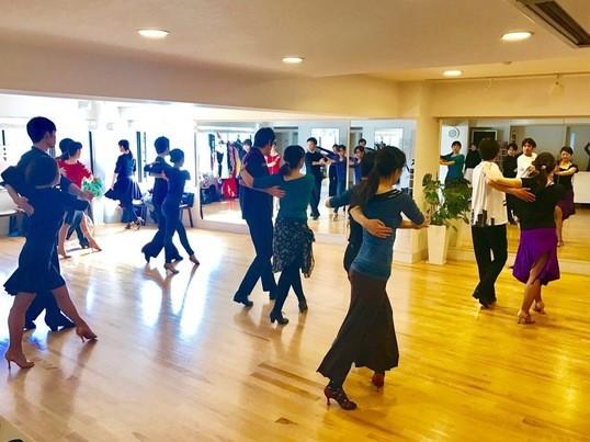 社交ダンス体験講座の画像