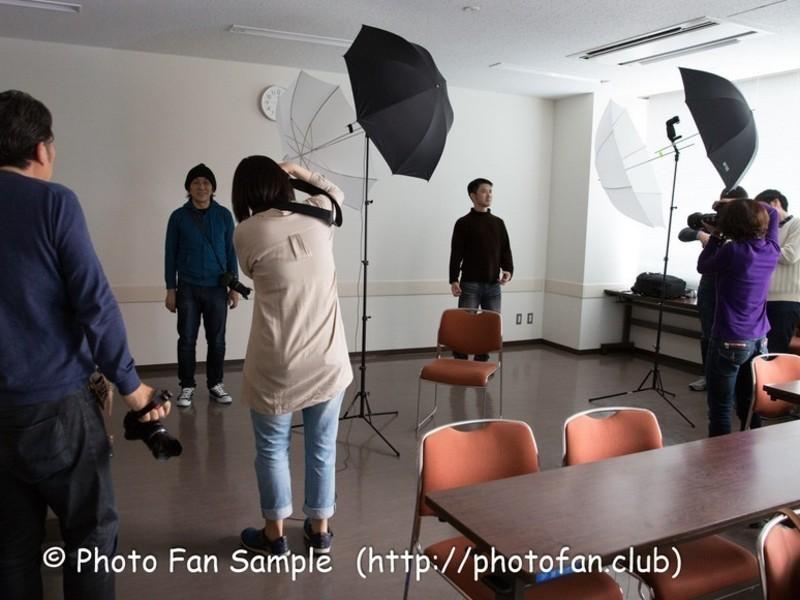 【大阪】クリップオンストロボ1灯でポートレートライティングの画像