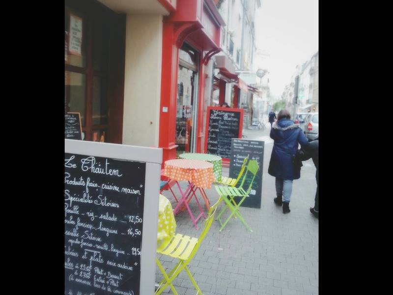 カフェで楽しくフランス語レッスンの画像