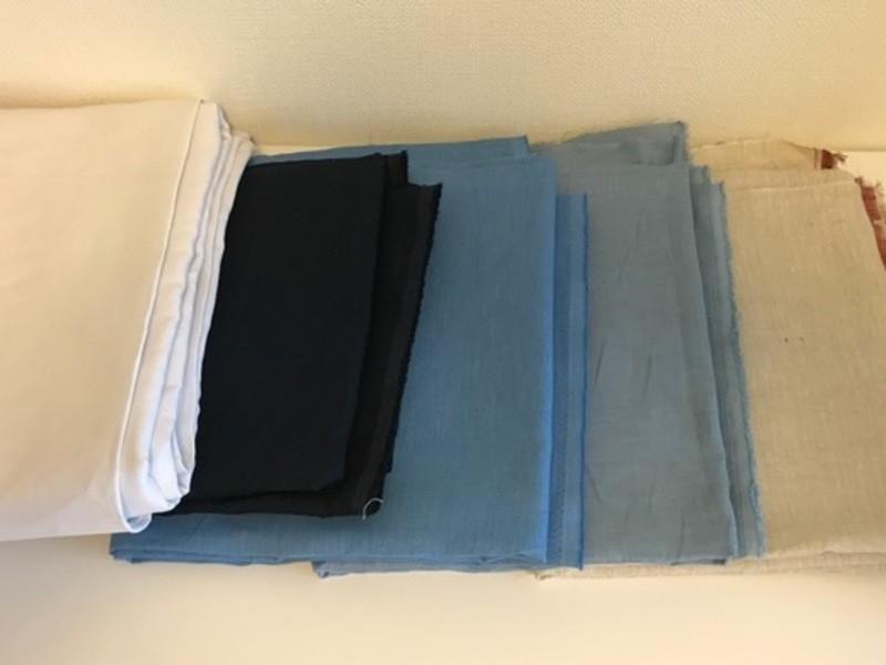 ご希望のサイズ・カラーで作れる麻素材ワイドパンツの画像