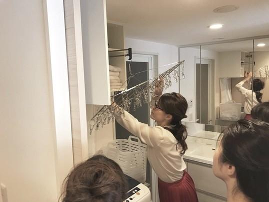 片づく仕組みが分かる!講師自宅で収納見学 講座の画像