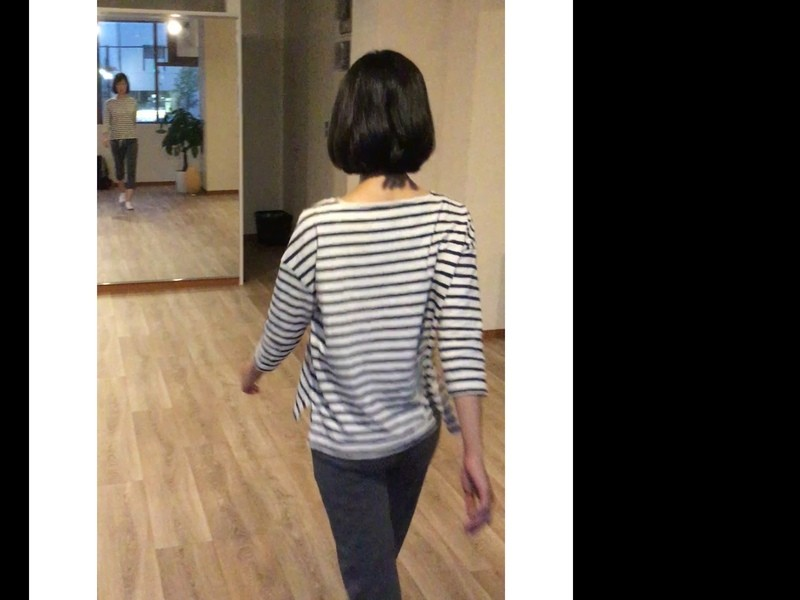 キレイに歩く、歩きで魅せるウォーキングレッスンの画像