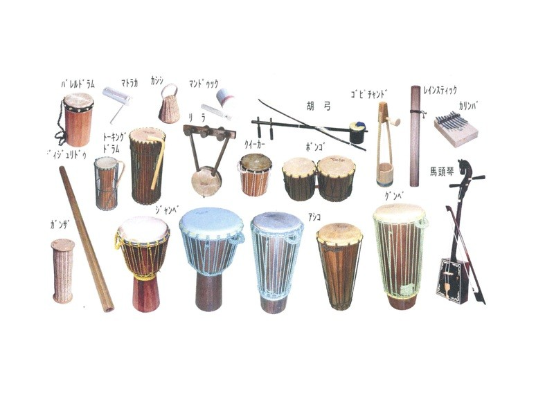 民族楽器 胡弓を作ろうの画像