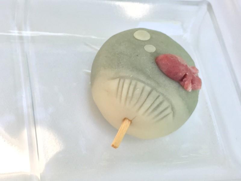 鎌倉de自然派和菓子レッスン【7月】練り切り<うちわ>の画像