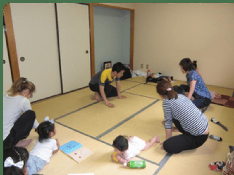 7/17(火) 赤ちゃん連れ歓迎ヨガ 開催の画像