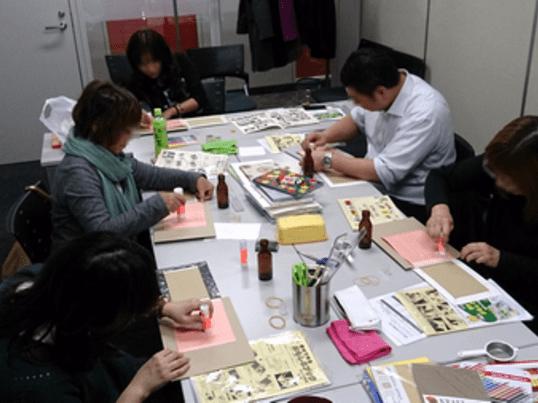 【モノ作りを自由に楽しむ】手作りBOOK体験講座 in上尾教室の画像