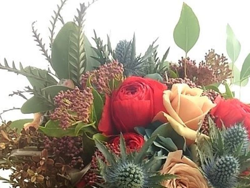 【初心者~ショップで使えるテクニック】南半球の珍しい花にチャレンジの画像