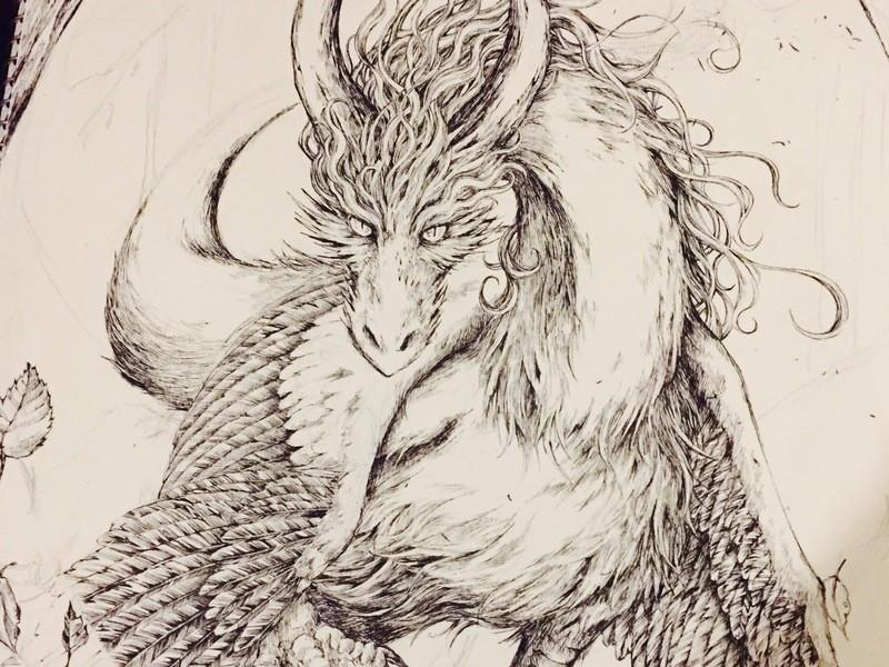 《初心者向け! 細密画で動物お絵描き講座》の画像