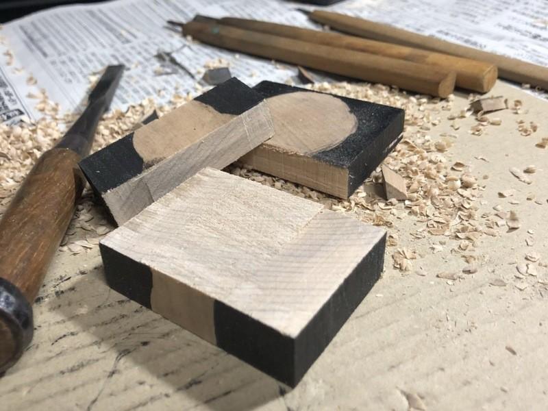 木彫講座 〜ネコ〜の画像