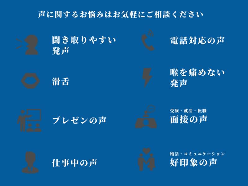 【オンラインで話し声のボイトレ】地声を磨くトレーニング 発声滑舌編の画像