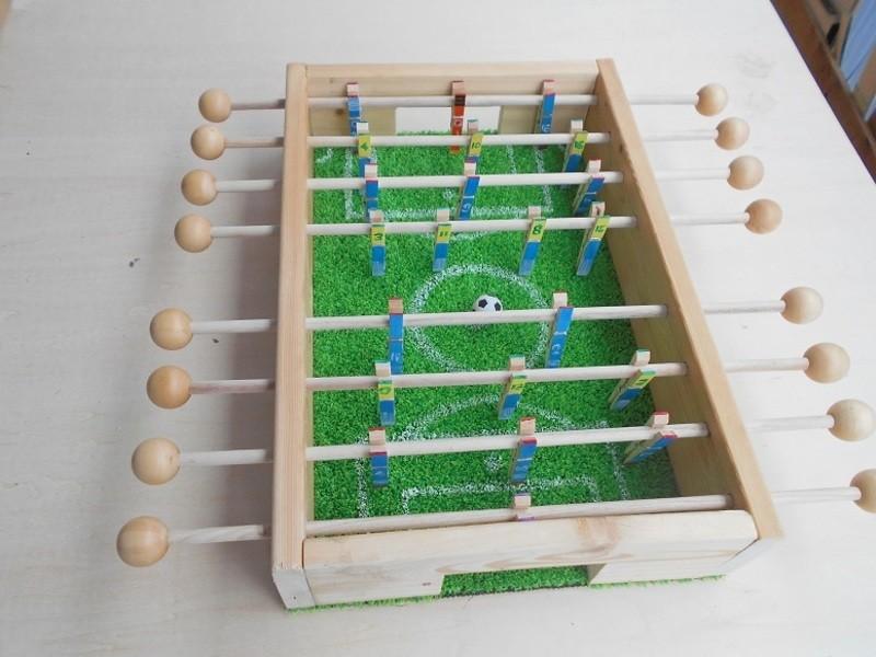 【自由研究・工作】サッカーゲーム盤を作りましょう!の画像