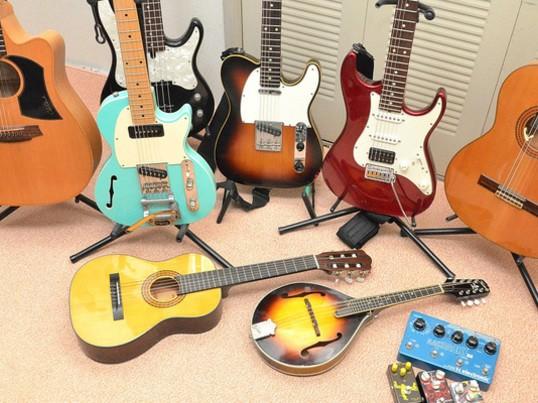かっこいいギターソロを弾く。自分で自分のフレーズをコピーできる?の画像