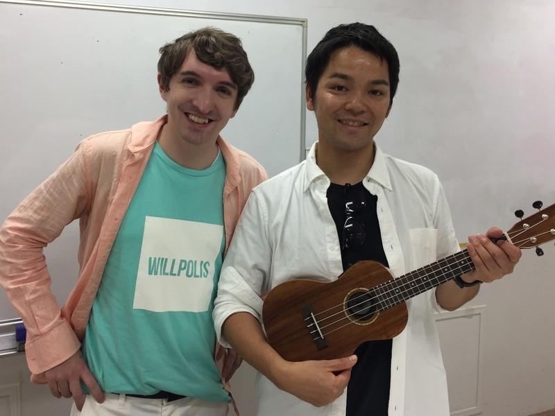 日米のプロミュージシャンと効果的に英語を学ぶ 洋楽ワークショップの画像