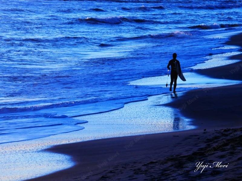 写真が楽しくなる講座 湘南 稲村ヶ崎 海と夕日の撮り方 基礎編 の画像
