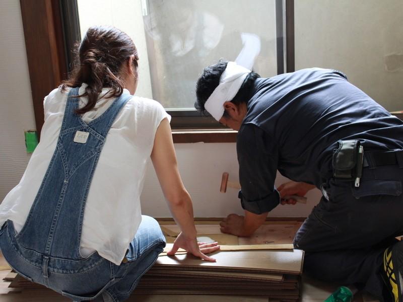 リノベーション工事を学ぼう!・床組み後半 ~和室を洋室に~の画像