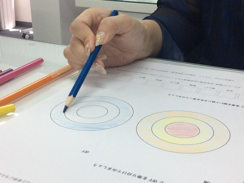 色選びに悩むネイリストさん向けネイルカラーの学校体験スクールの画像