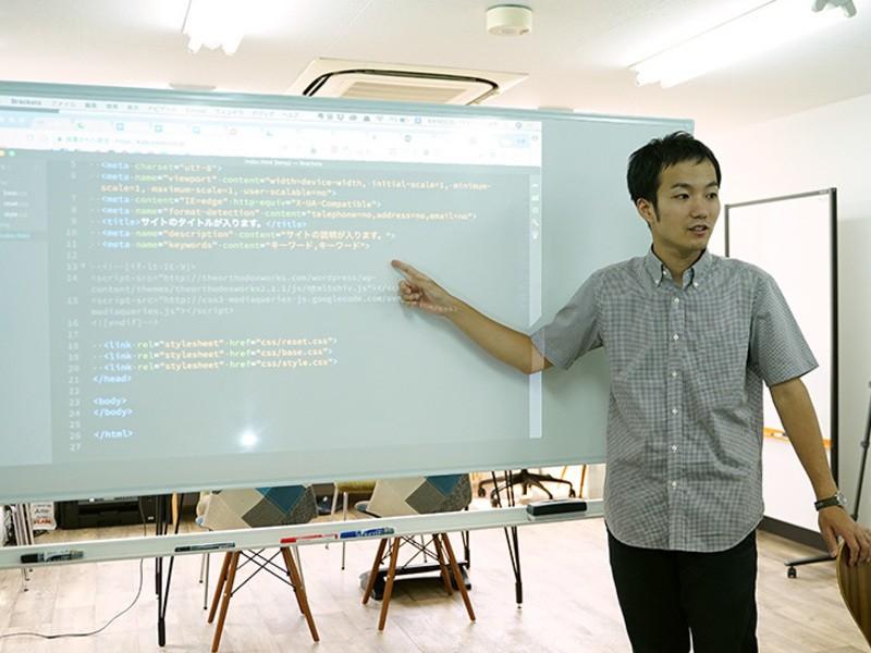 少人数で丁寧に学ぶ!HTML5&CSS3基本講座の画像