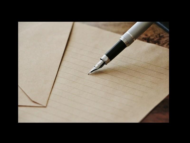 手紙で、季節と自分を重ね、穏やかに・・・の画像