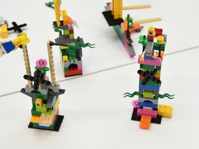 【お試し版】 レゴ®シリアスプレイ®メソッドと教材を用いた ワークの画像