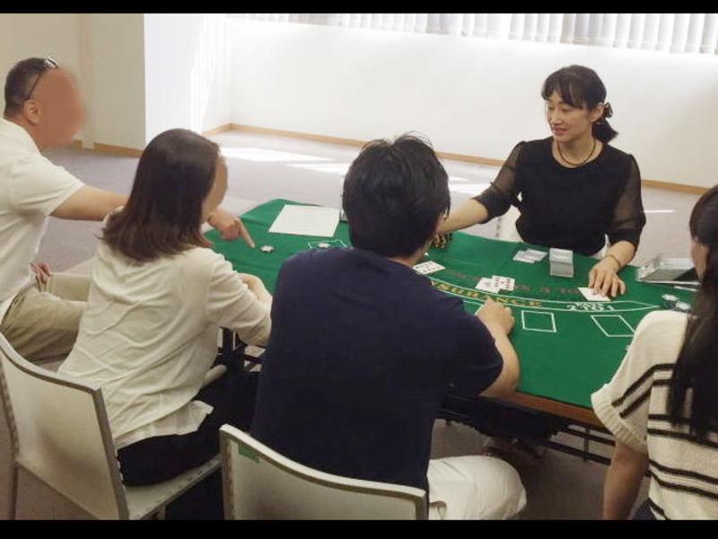 カジノでのカードゲームの遊び方-初心者向け ♪♪の画像