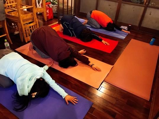 鎌倉古民家カフェヨガの画像