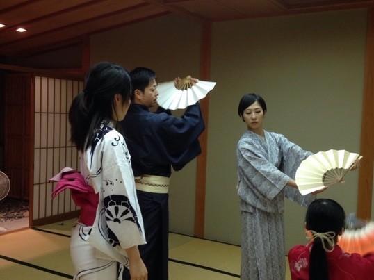 日本舞踊を体験しよう!の画像