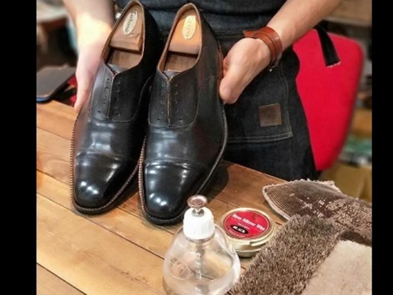 靴職人が教える「初めての靴みがき」~一度学べば一生使える靴みがき~の画像