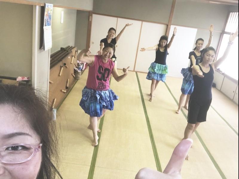 タヒチアンダンス ベーシック de しなやかボディメイキング☆の画像