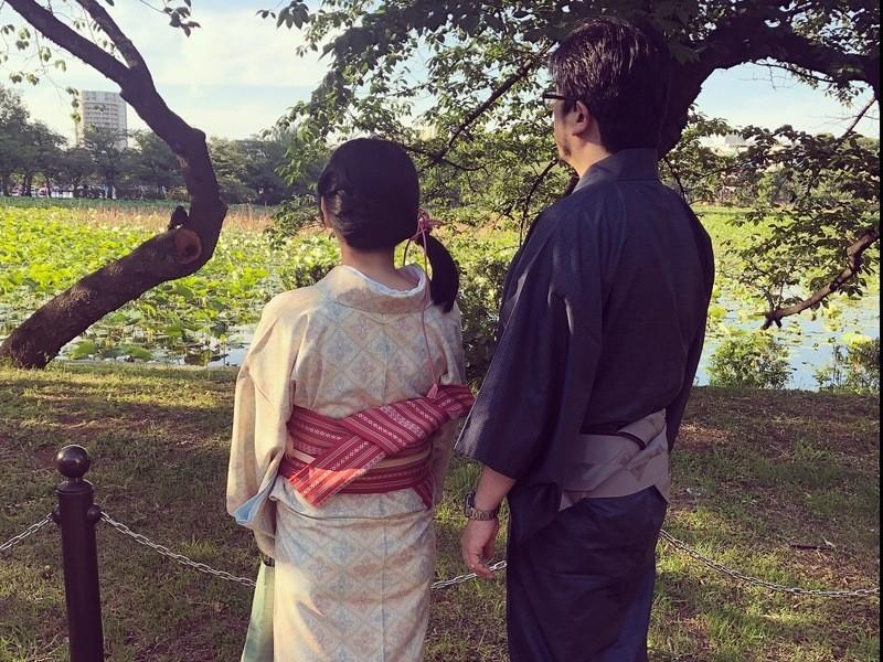 きもの講師と行く庭園散歩~和服歩きの心得~の画像