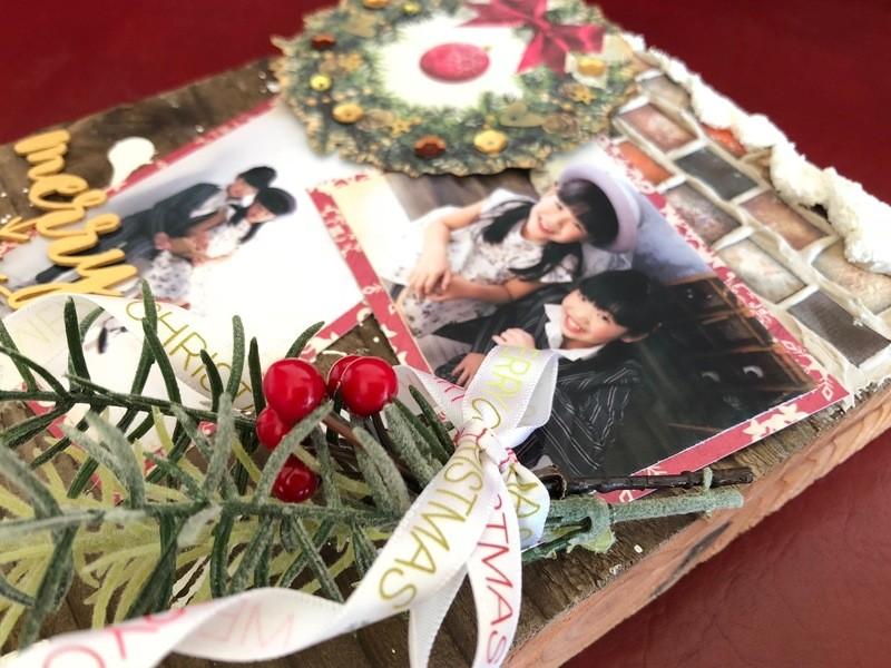 足場板で飾る!ラスティックなクリスマスデコレーションの画像