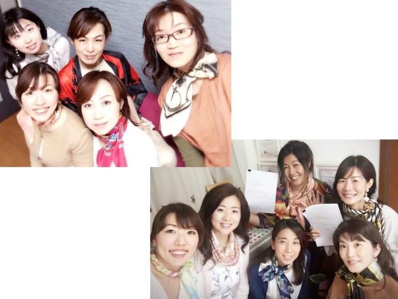 大人の女性のスカーフアレンジデビュー講座の画像