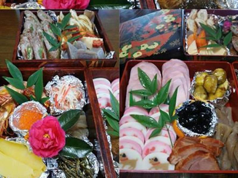 おせち料理基礎編。低糖質。食べて美味しく 目で楽しむ 美しいおせちの画像